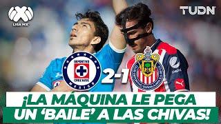 Qué golazos! Cruz Azul domina y derrota a las Chivas | Cruz Azul 2-1 Chivas - CL 2017 | TUDN