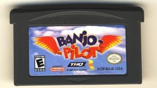 Classic Game Room - BANJO PILOT review for Game Boy Advance