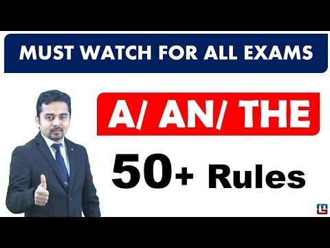 ARTICLES | ENGLISH GRAMMAR | DAY - 1 | DIGITAL CLASS | SBI PO 2017 |
