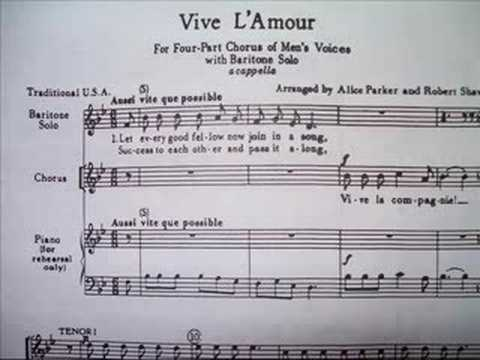 Vive L'Amour (Performed by One)