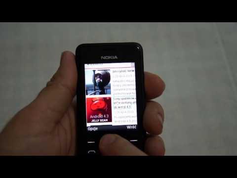 Nokia 301 - camera, internet, games - part 2