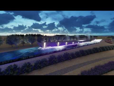 New Hamad Port Landscape Design  Presentation Video
