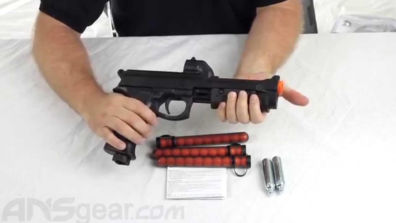 JT ER2 Pump Paintball Pistol Kit - Review - YouTube