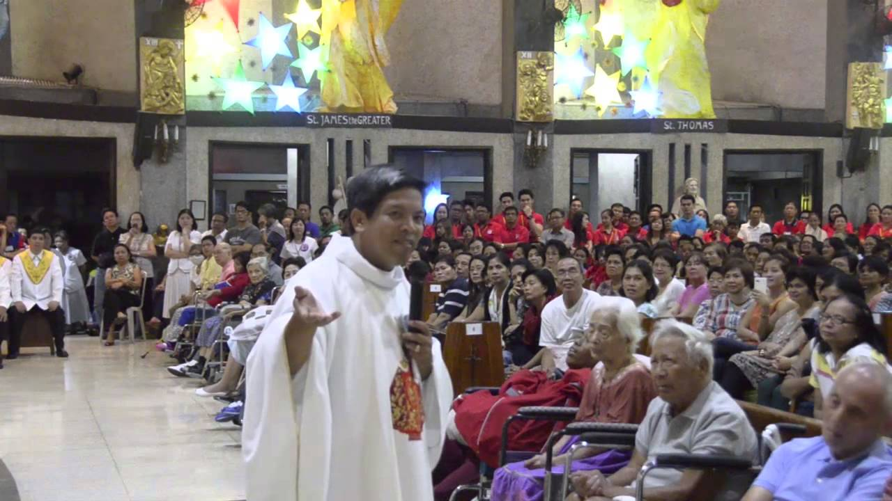 Homily & Healing Prayer by Fr  Fernando Suarez