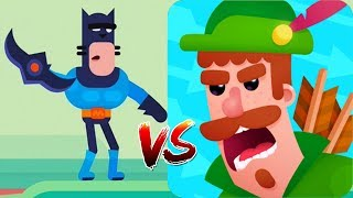 Bowmasters - Epic Legendary Character Battle Android/iOS Gameplay