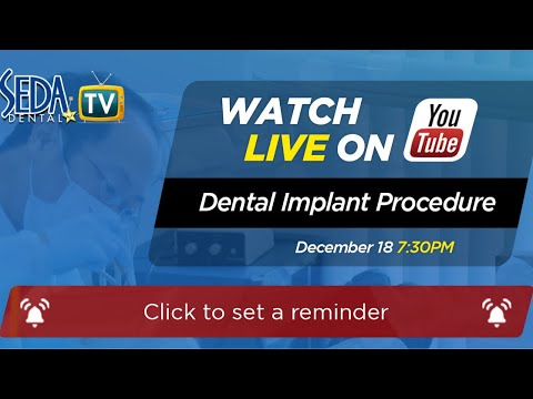Watch a Live Dental Implant Procedure