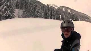 Danny skiing Parsenn above Davos Thumbnail
