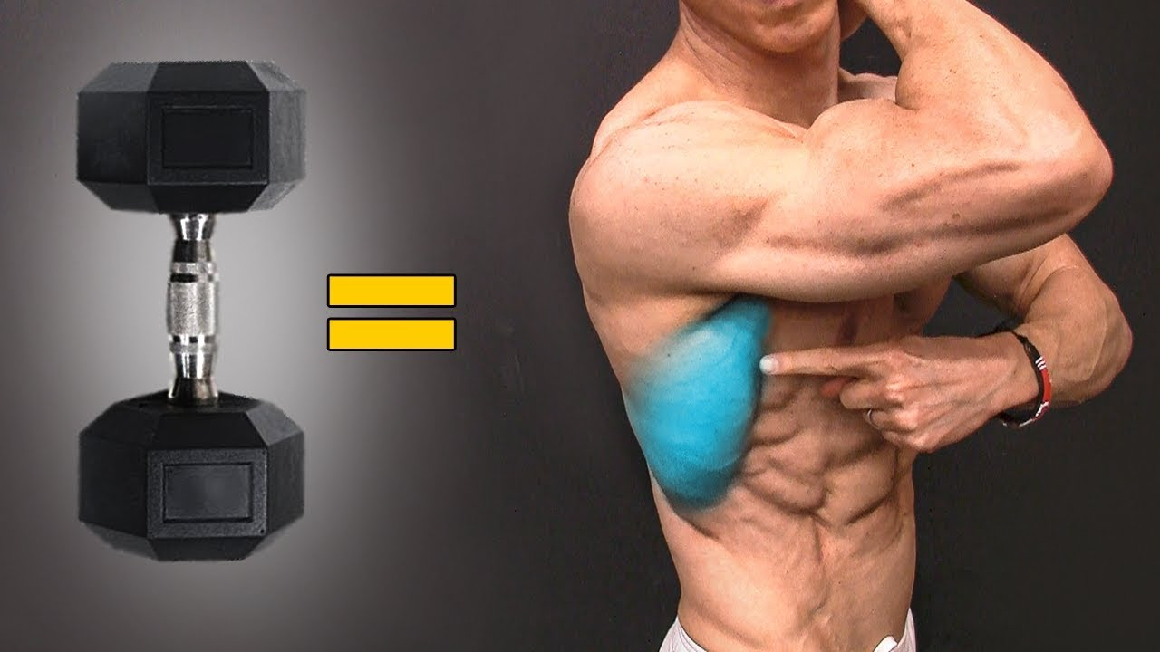 Work Your Core: Top 4 Dumbbell Exercises