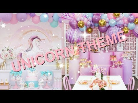 Cutest Decor ! DIY Unicorns Birthday Party Decoration Ideas  افكار اليونيكورن