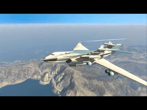 [Gta 5] ''Driving a car out of a plane''