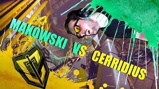 MAKOWSKI VS CERRIDIUS (LOSERS ROUND 2)