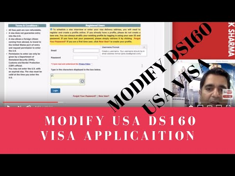 How To Modify Ds160 USA Non-immigrant Visa Form Before Your US Interview By Abhishek Sharma