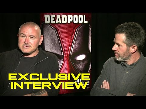 DEADPOOL Exclusive Blu-Ray Interview - Director Tim Miller & Producer Simon Kinberg