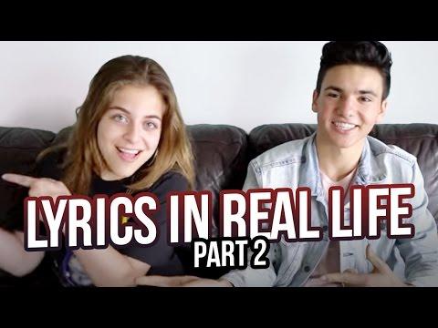 LYRICS IN REAL LIFE ft. Daniel Skye PART 2   Baby Ariel