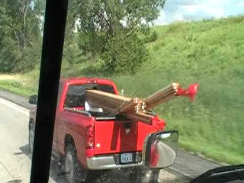 How To Haul Long Lumber In A Pickup Of Trucks