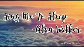 Alan Walker - Sing Me To Sleep(Speed Up)