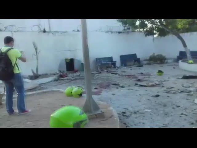 Tres policías muertos y 17 heridos en un brutal atentado en Colombia