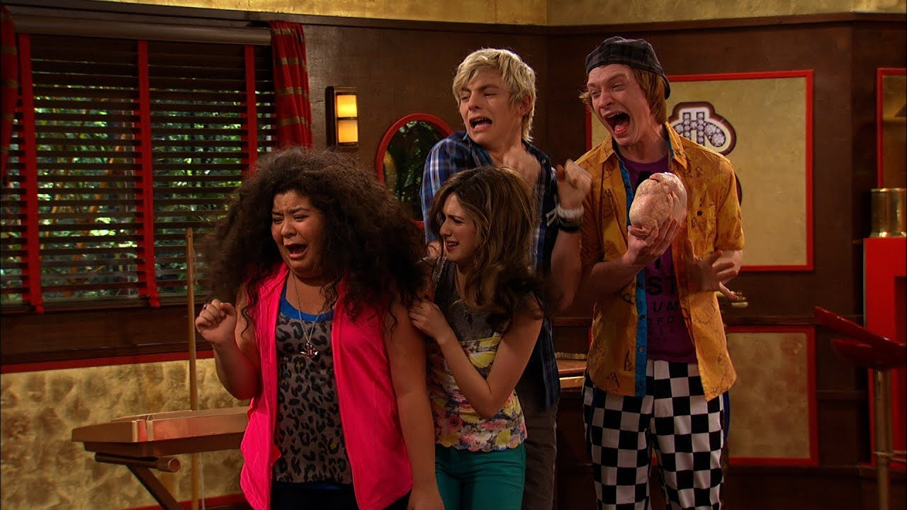Is austin dating ally in and why cant
