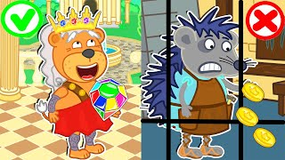 Lion Family Official Channel 👑 Fairy Tales #12. Great Discovery | Cartoon for Kids