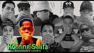 KONTING SALITA  by Krazykyle  (Official Lyric video)  FREE DOWNLOAD