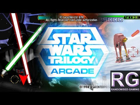 Star Wars Trilogy - Arcade Model 3 - Full attract, intro & playthrough [1080p 60fps]