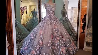 Floral Gown Dresses || Barbie Gowns || Doll Gowns || ball Gown Dressesl  2018