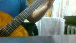 The Beatles - Yesterday на гитаре.mp4