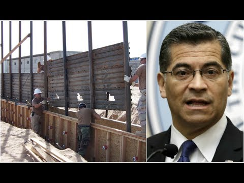 BREAKING NEWS: California Attorney general to sue over President Donald Trump's border wall