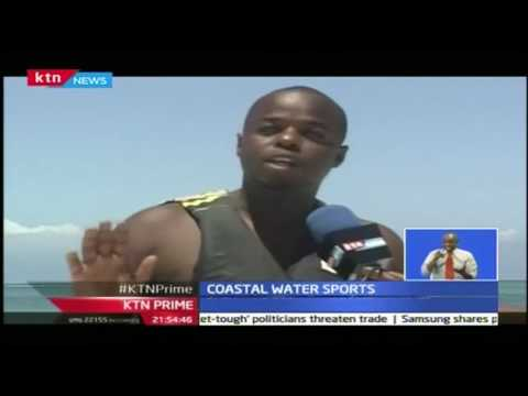 KTN Prime 13th September 2016: Fly Board water sport introduced in Kenya