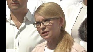 Вибори в Раду Голосування лідера партії Батьківщина Юлії Тимошенко