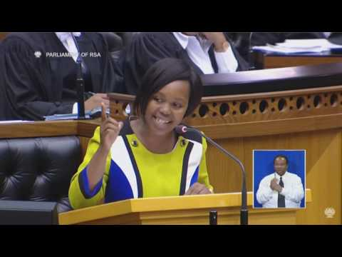 DA's Hlomela Bucwa - Youngest MP in SA's History