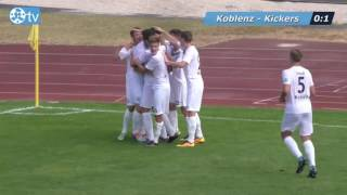 Regionalliga Südwest 08. Spieltag: TUS Koblenz vs. Stuttgarter Kickers Spielbericht