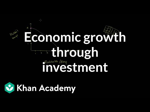 Economic growth through investment | Microeconomics | Khan Academy