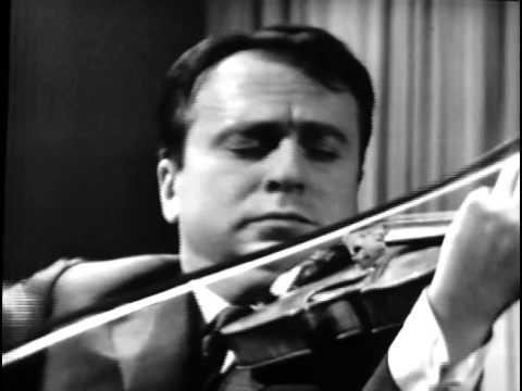 Henryk Szeryng plays Bela Bartok - Romanian Folk Dances (HQ)