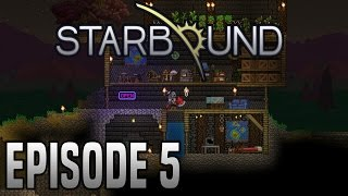 Starbound 1.0   Let's Play   Episode 5   Finally Found The Floran Planet