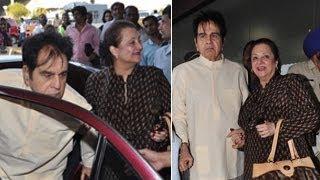 Dilip Kumar & Saira Banu leave for Umrah