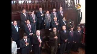 UNMSM condecora a Congresistas egresados de esta Casa Superior de Estudios