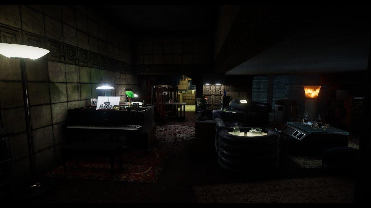 Blade Runner 9732 Deckard S Apartment
