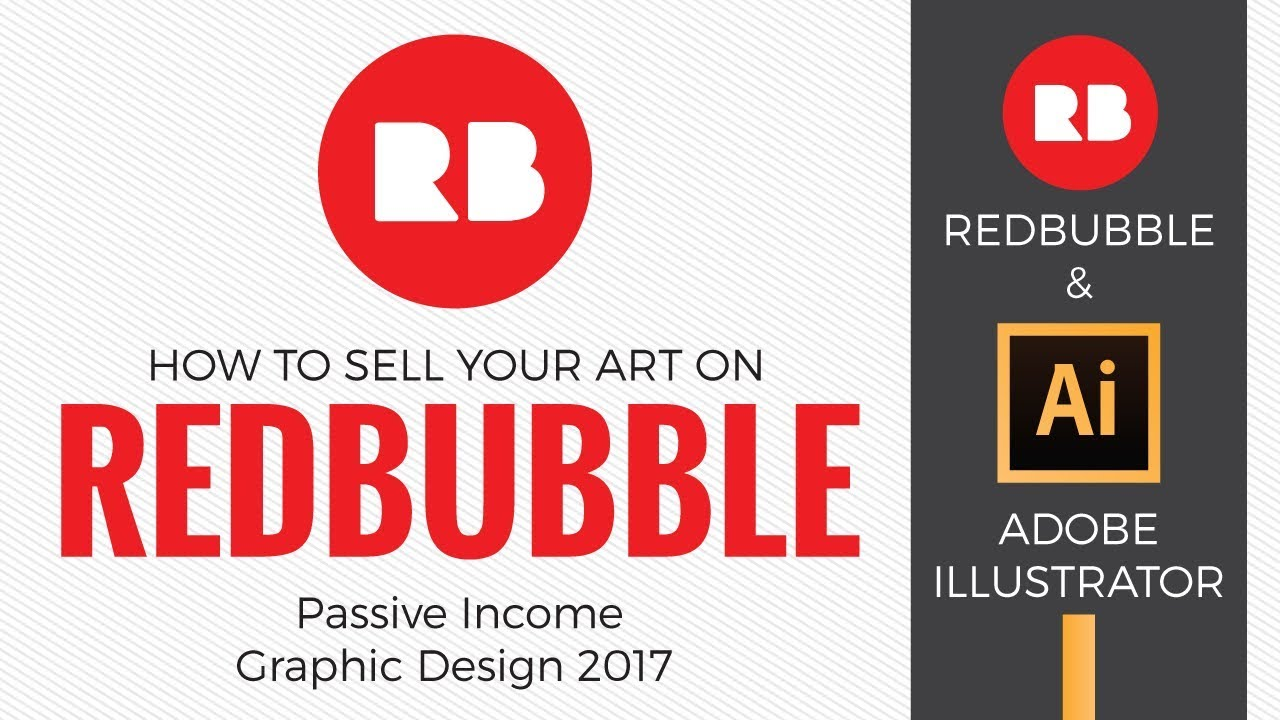 6c4f9dc8 How to sell your art on Redbubble - Passive Income Graphic Design 2017