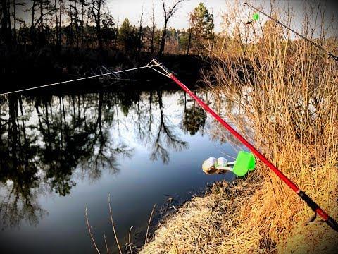 На рыбалку в ДИКИЕ МЕСТА|Весенний фидер в деле