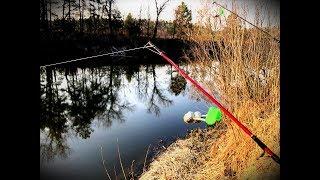 На рыбалку в ДИКИЕ МЕСТА Весенний фидер в деле