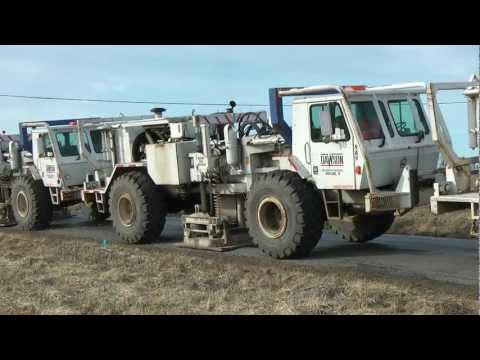 Thumper Trucks Mapping Marcellus Shale Clymer, PA