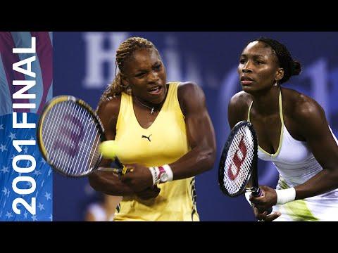 Serena Williams Vs Venus Williams In Their First Grand Slam Final Meeting! | US Open 2001 Final
