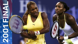 The 2001 women's singles final was set to make history, even before serena and venus williams found themselves across net in championship match. ...