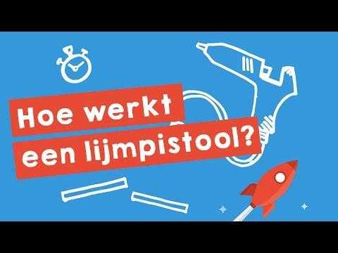 Hoe werkt een lijmpistool? (uitgelegd in 1,5 min.)