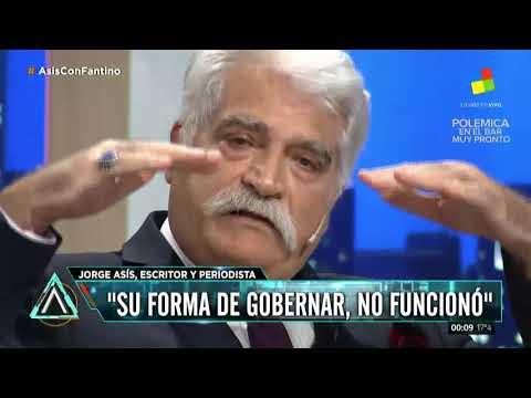 Asís a Macri: Póngase el país al hombro, para no ponérselo de sombrero