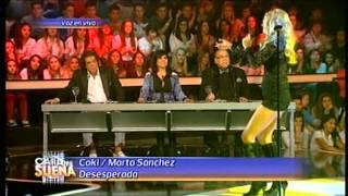 Tu Cara Me Suena, Argentina; Coki/Marta Sánchez