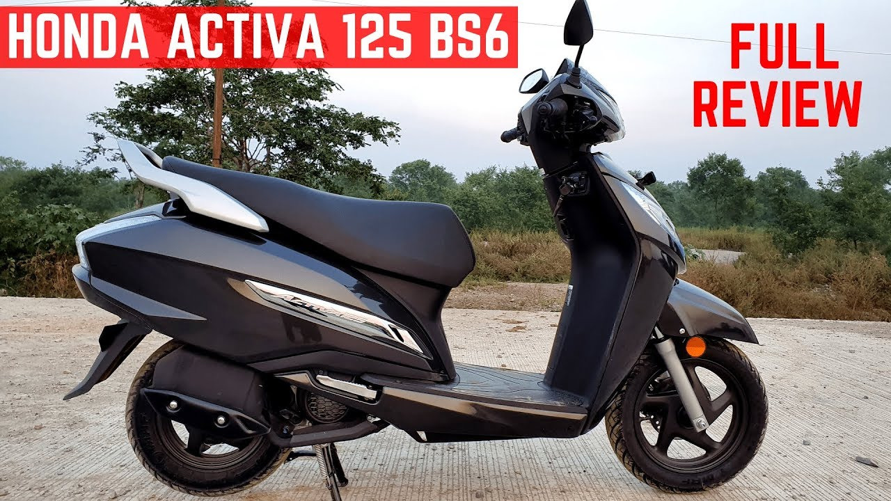 Honda Activa 125 Bs6 Full Detailed Review Test Ride Mileage Price Features Activa 125 Bs6 Youtube