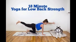 18 Minute Yoga for Low Back Strength