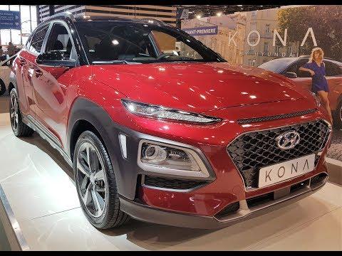 Pr sentation SUV Hyundai Kona 2017